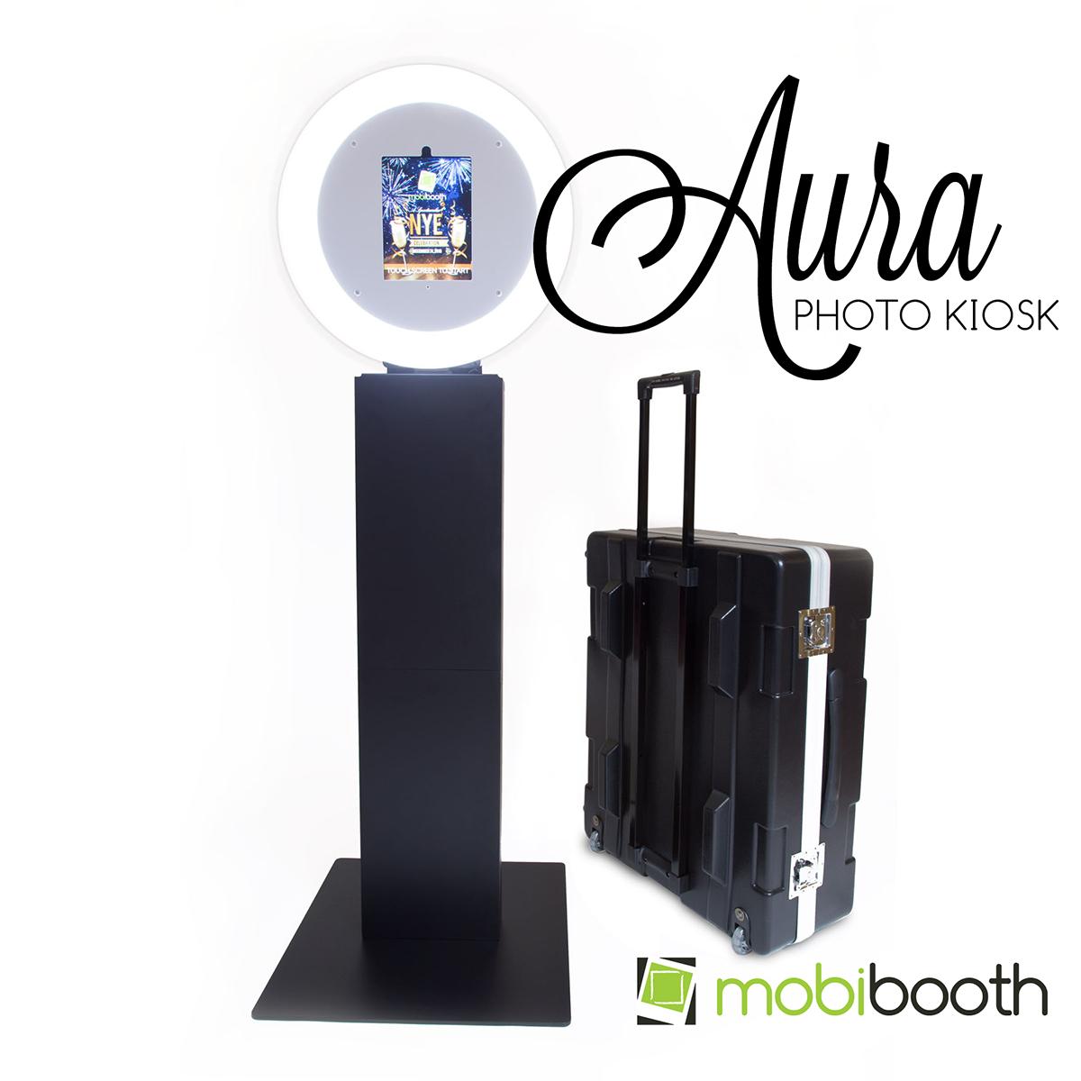 Aura photo kiosk