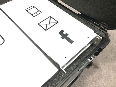 portable travel case