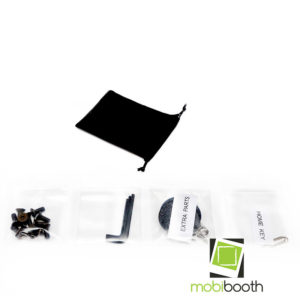 Mobibooth Aura™ Photo Booth Kiosk For Sale, GIF Booth, Ring Light