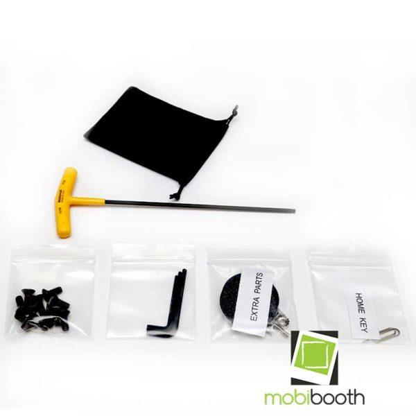 Mobibooth Aura™ hardware kit black