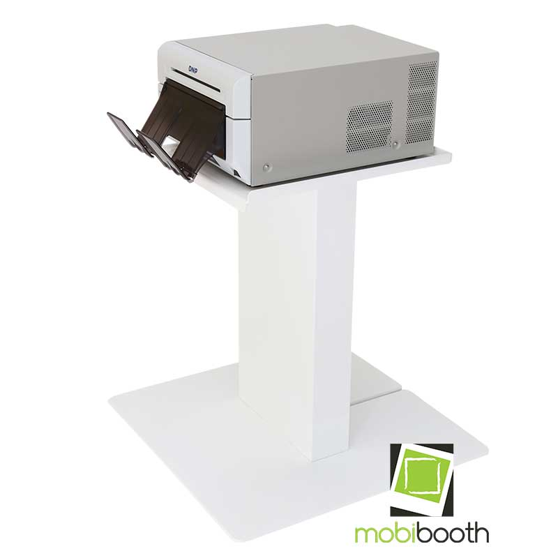 Mobibooth printer stand white