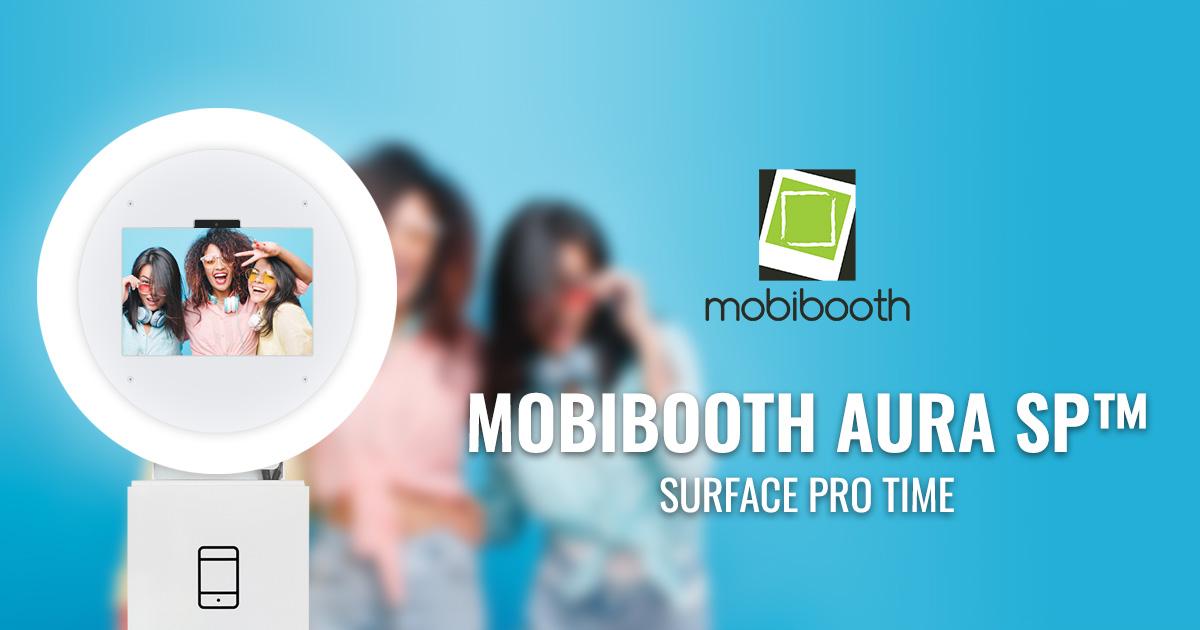Mobibooth Aura Sp Pbx Special Ring Light Mirror Photo