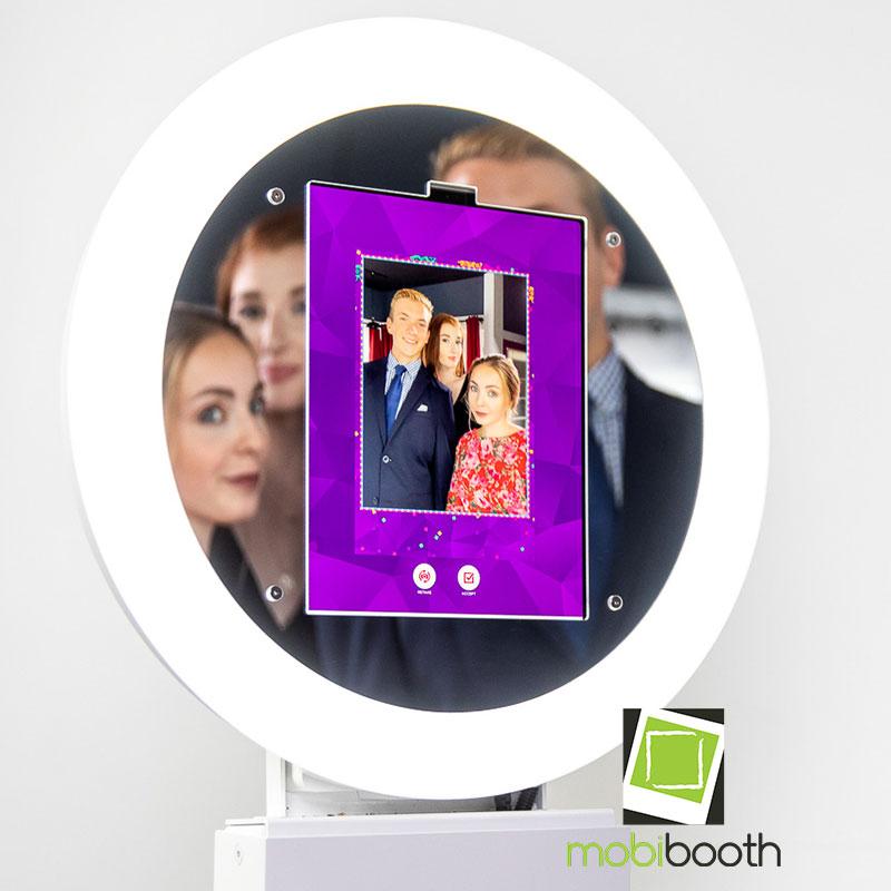 ipad booth mirror faceplate