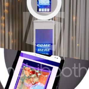 promo video sharing kiosk